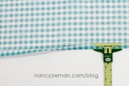 How-To Sew Simple Mitered Corner Napkins with Nancy Zieman   Nancy Zieman Blog