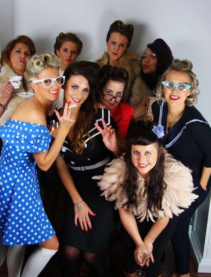 Hen Party Ideas For Small Groups: Group Styling / Hen Parties
