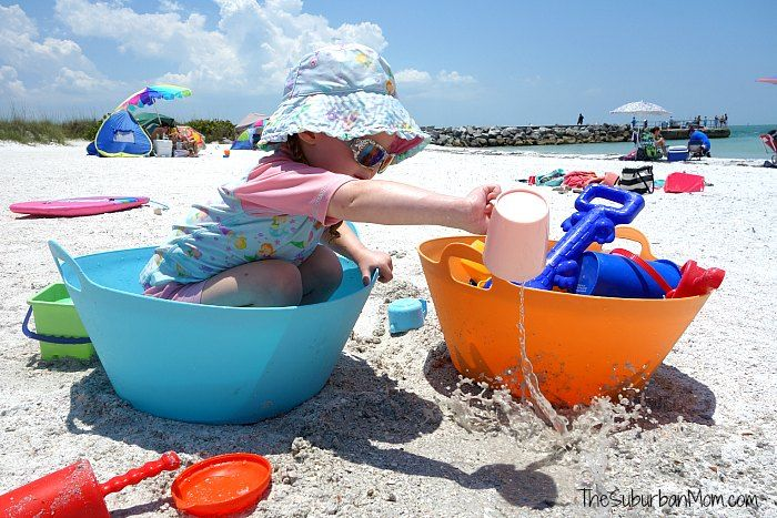 Planning a trip to the beach this summer? Don't forget to pack these 15 Toddler Beach Essentials to make your beach trip fun and easy!