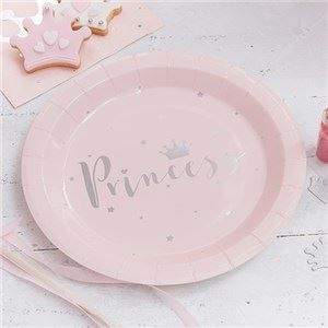 🎉 JUST ADDED - Itty Bitty Party Princess Perfection Silver Foiled Paper Plates 👸  VIEW HERE: