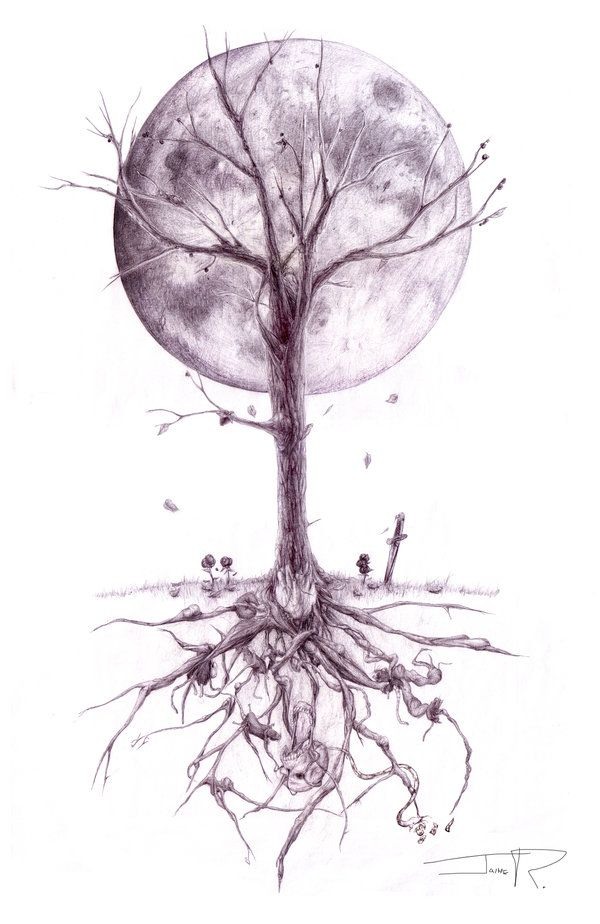 Tree Of Life Tattoo Designs | Junkies Downward Spiral by ~GreencardLove on deviantART