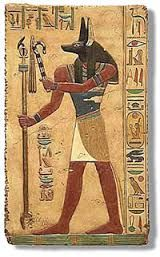 Image result for pics of anubis the god