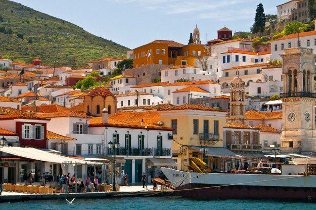 5 самых уютных островов Греции