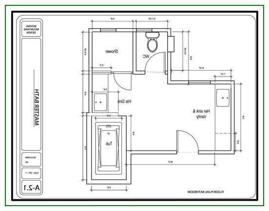 Luxury Master Bathroom Floor Plans