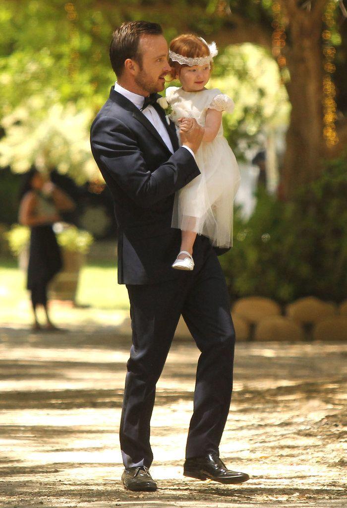 Aaron Paul Wedding Pictures | POPSUGAR Celebrity