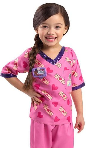 "Doc McStuffins Doctor's Dress Up Set - Pink Scrubs -  Just Play - Toys""R""Us"