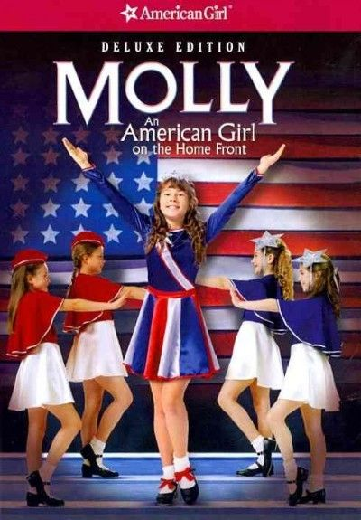 text to media- Margret is a girl growing up during WWII and so is Molly in this movie, they both start out about the same age though by the end of the book Margret it much older