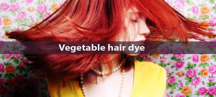 Vegetable hair dye types and benefits