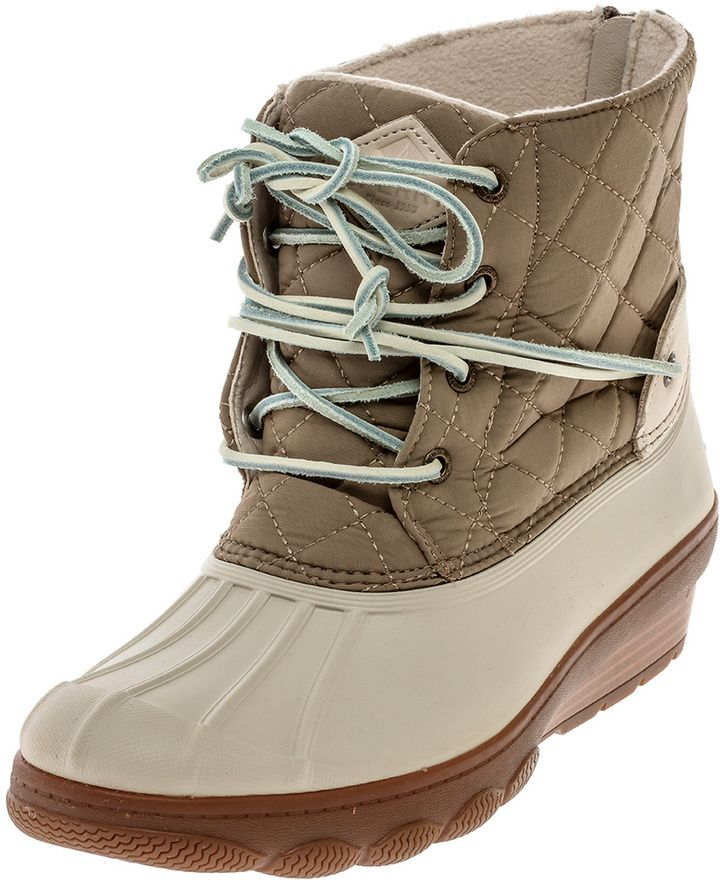 Sperry Saltwater Duck Boots #winterboots #boots #affiliate