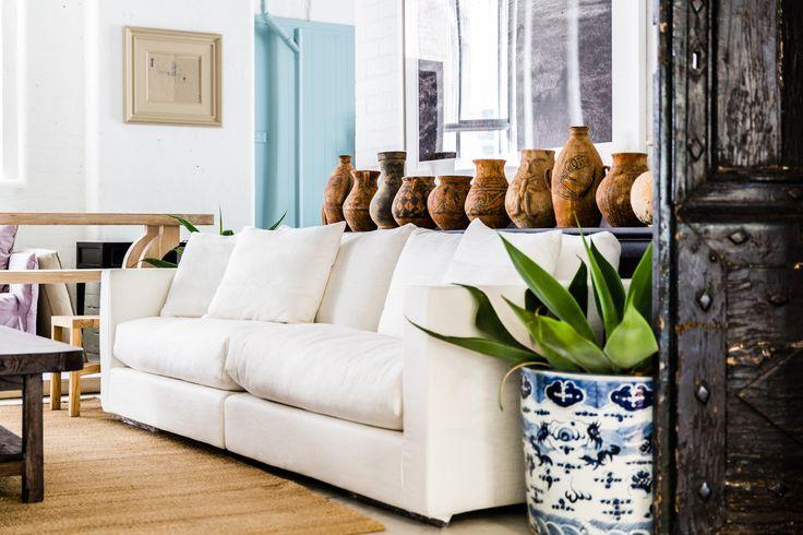 Milan sofa white
