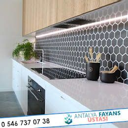 modern Kitchen by Antalya Fayans Ustası