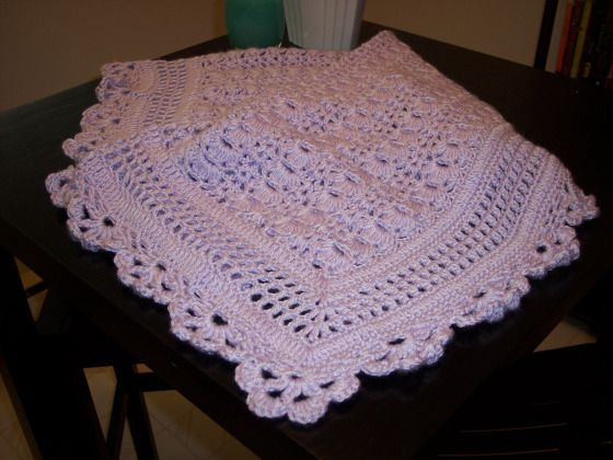 Loved this baby blanket pattern!