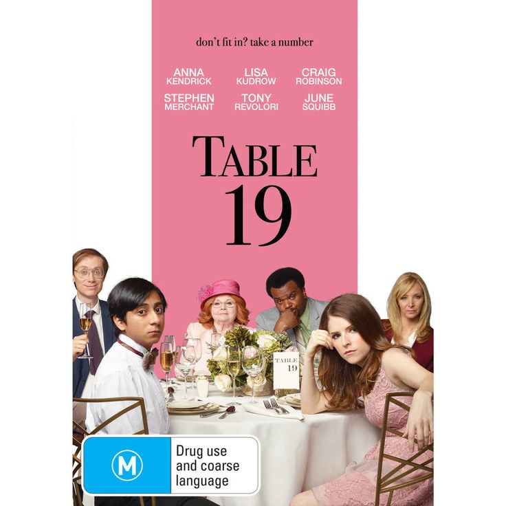 Eloise, having been relieved of maid of honor duties after being unceremoniously dumped by the best man via text, decides to attend the wedding anyway, only to find herself seated with five fellow unwanted guests at the dreaded Table 19.