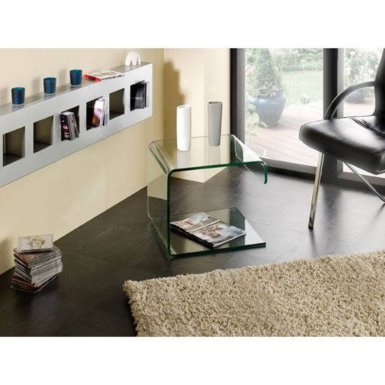 Clear Bent Glass Table Looks Beautiful In Every Home And Office Environment  Http://