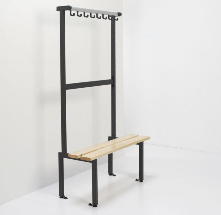Furniture Living Room Decorating Ideas For Small Spaces Inovative Bench  With Coat Rack For Public Space Design Ideas Various Models Cretive Modern  Coat Rack ...