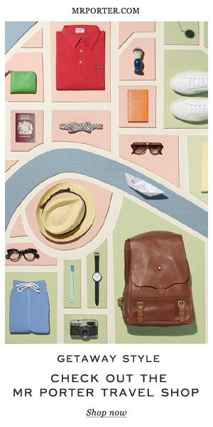 mr. porter travel shop