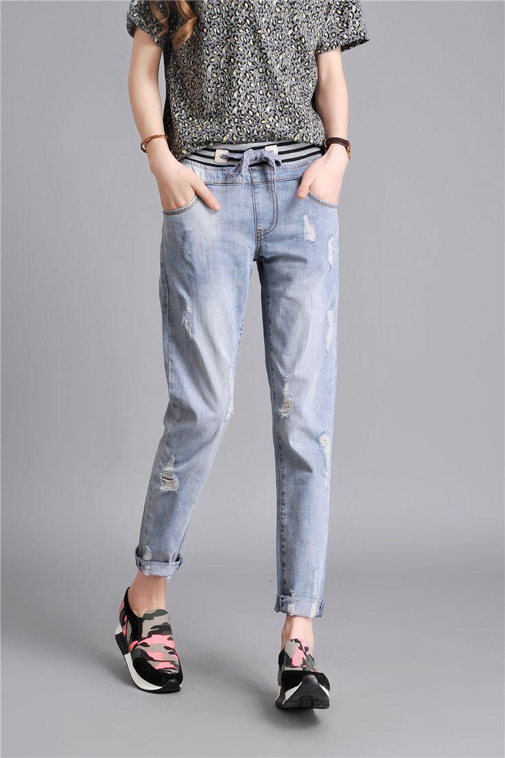 #taobaofocus #taobao #tmall #womens #jeans #light #blue #autumn #casual #таобаофокус #таобао #женские #джинсы #светло #голубые #осень