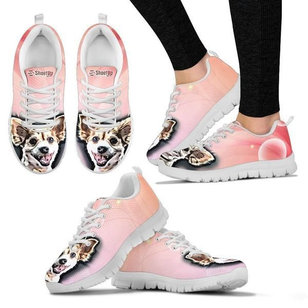 5a4f9cf7cb48 Customized Dog Shoes-Cartoon Running Shoes For Women-Designed By ...
