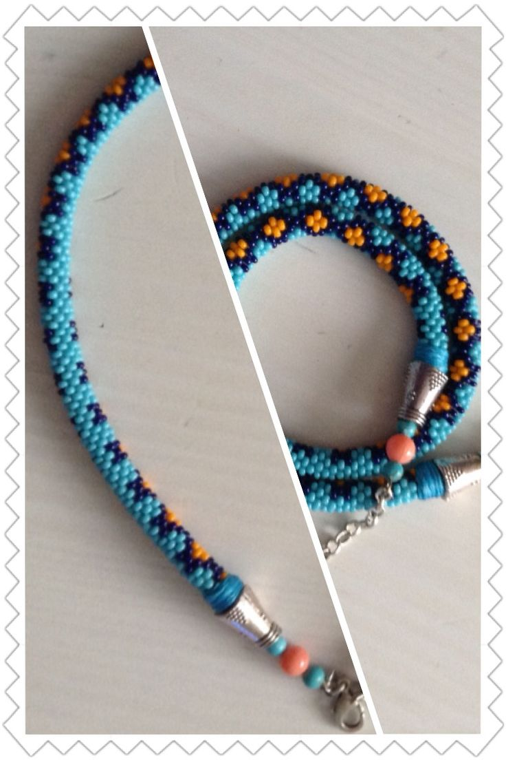 Bead Crochet Necklace Rope