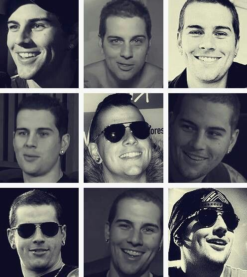 M Shadows, love him, because of his voice duh... And those aviators. And tattoos. And that smile. And that body. And his sense of humor.
