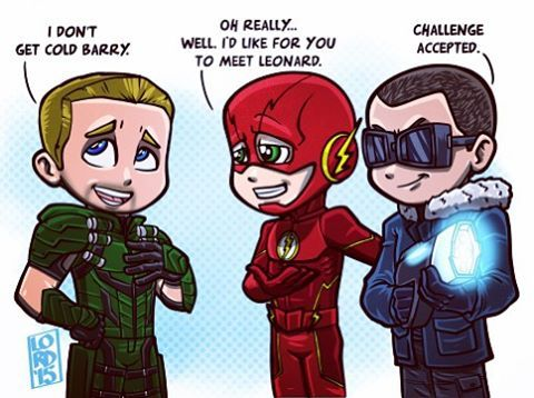 "Lordmesa Art — ""Challenge Accepted""  ⚡️❄️  This season's..."
