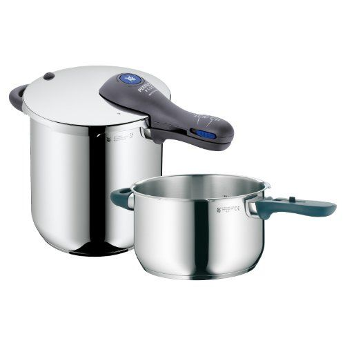 WMF Perfect Plus 812Quart and 412Quart Stainless Steel Pressure Cookers with Interchangeable Locking Lid *** Be sure to check out this awesome product.