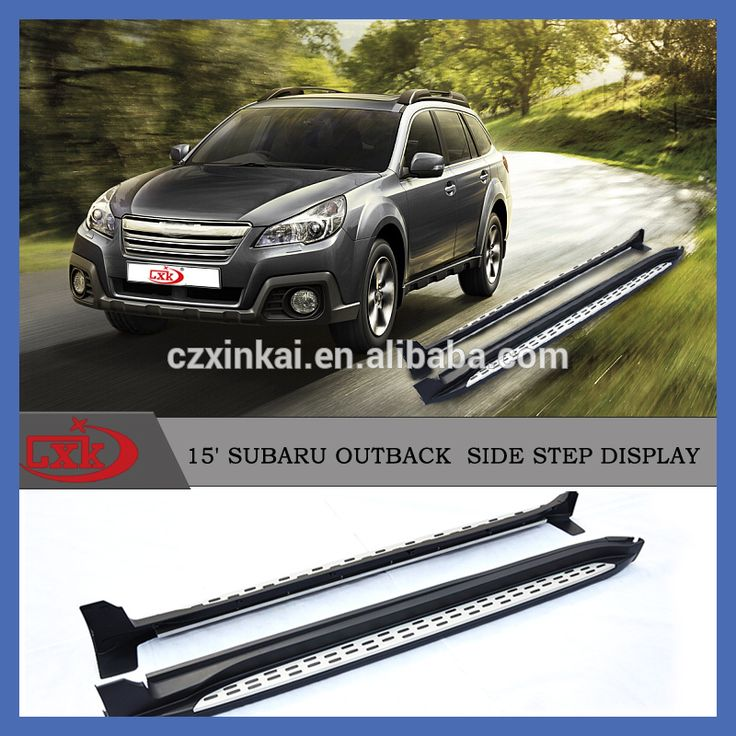New product Auto parts Aluminum Running board/side step for Outback 2015 4x4 accessory from CXK china factory