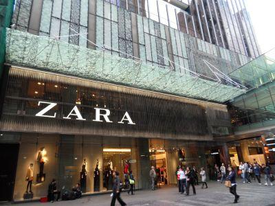 Zara Sydney Westfield store. Always a stop off when visiting Sydney.