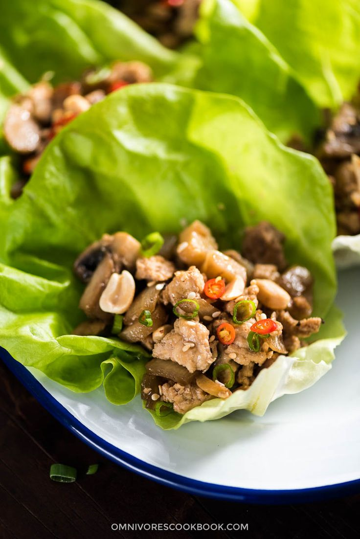 71 best asian flavors images on pinterest cooking food asian easy chicken lettuce wrap forumfinder Gallery