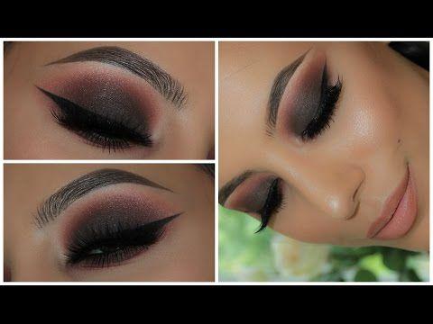 Dark Smokey Eye   Anastasia Modern Renaissance Palette Vol.2   Amys Makeup Box - YouTube