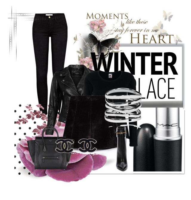 """Always in Black Fall-Winter"" by siempreguapaconnormacano on Polyvore"