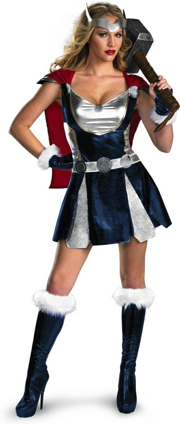 Thor Girl Costume - Supergirl Costume for Women ...