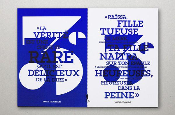 Conservatoire d'Art Dramatique Paris on Behance
