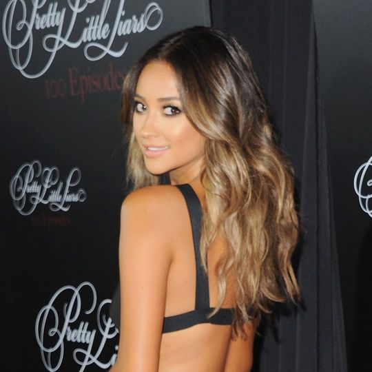 Shay Mitchell's ombre hair color