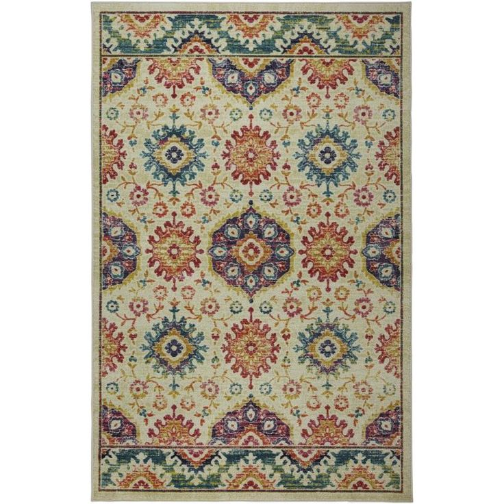 Mohawk Home Prismatic Tan Indoor Area Rug Common 5 X 8 Actual 5 Ft W X 8 Ft L Z0515 A416 060096 In 2020 Mohawk Home Indoor Area Rugs Area Rugs