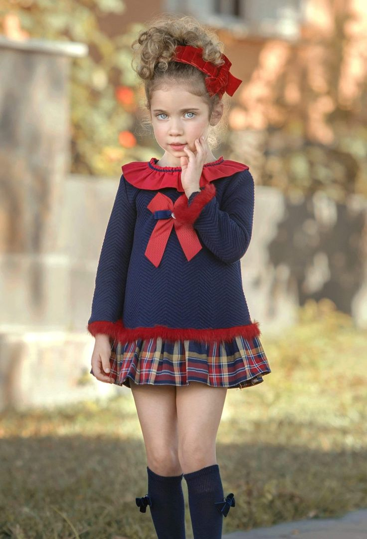 Gorgeous navy & red dress with a tartan print hemline by Miranda for Winter 20. No refunds or exchange on Clearance Sale items. Boutique, Clearance Sale, Sale Items, Hemline, Harajuku, Navy, Red, Stuff To Buy, Winter