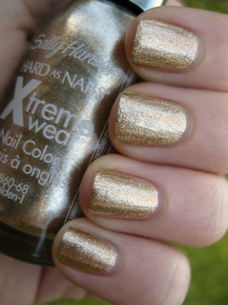 Gold dress nail polish companies