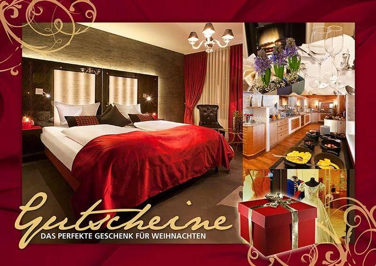 Gutscheine - das perfekte #Geschenk für #Weihnachten.  Lass uns in die Sonne gehen!    Bis ans Meer ist es weit, aber mit den #Sonne-#Gutscheinen zum Frühstücken, für Cocktails an der Via-Bar, Essen im Restaurant Maximilian oder für ein romantisches Candle-light-Dinner im Parsifal-Zimmer schenkt man Sonne pur!  http://www.hotel-fuessen.de/de/