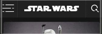 Star Wars - The hamburger menu icons are made of lightsabers. /via basoo