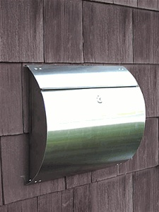 17 Best Images About Locking Wall Mount Mailboxes On
