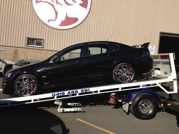 HSV Holden Clubsport Towing from Alexandria to Suttons City Holden Rosebery. For any towing needs #car or #motorcycle call Eastern Suburbs Towing Sydney on 0419466591. We provide #accident & #breakdown towing service