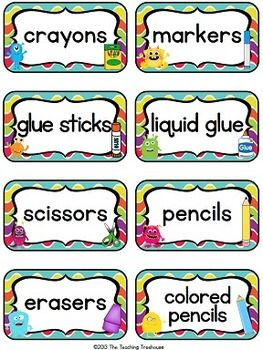 These adorable classroom supply labels will go great with any monster theme classroom décor! Included are 40 labels in four different design choices, plus editable labels(one sheet of each design). Each label measures 2 x 3.5 inches.