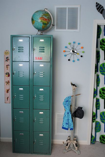 25 best ideas about locker storage on pinterest gym for Lockers for kids rooms