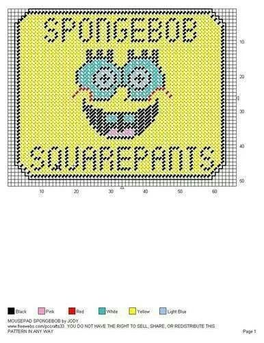 MOUSEPAD SPONGEBOB by JODY