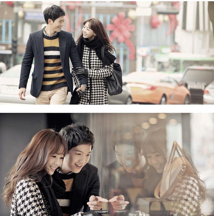 Korea concept outdoor photo shoot, Korean