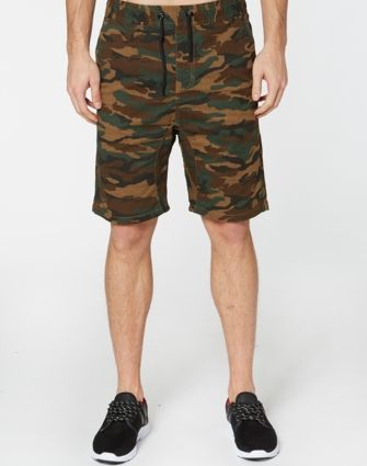 IFD Camo Dakota Shorts