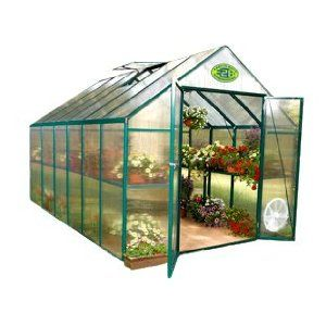 Systems Trading Backyard Hobby Greenhouse, Green, 8 By 12 Feet From Systems  Trading Corporation