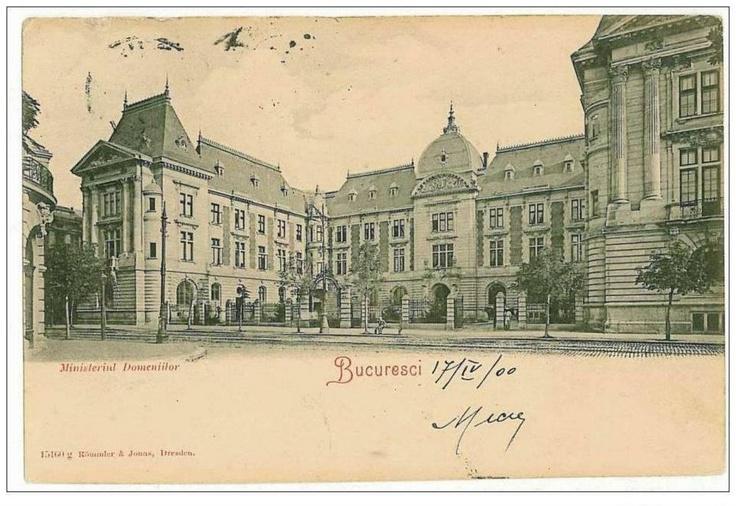 Bucuresti - Ministerul Agriculturii - 1900