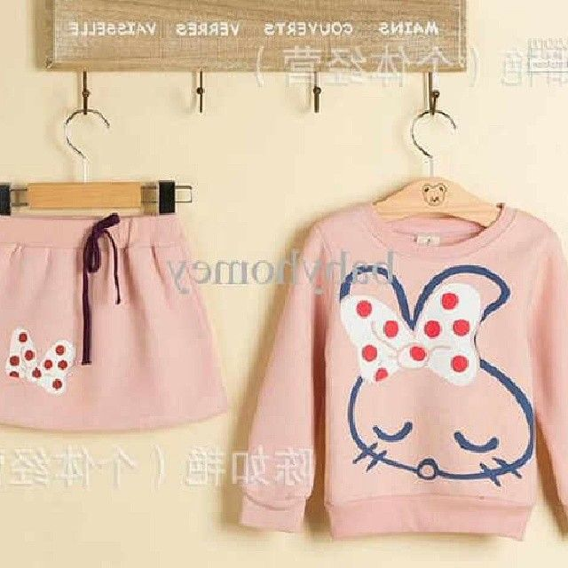 setelan pita rabbit kids 59rb