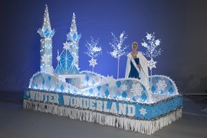 Winter Wonderland Complete Parade Float Theme